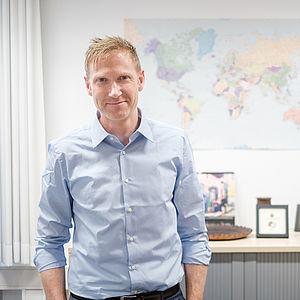 Prof. Dr. Michael Grimm, Inhaber des Lehrstuhls für Development Economics