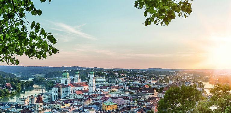 Ansicht der Altstadt von Passau. Foto: Adobe Stock