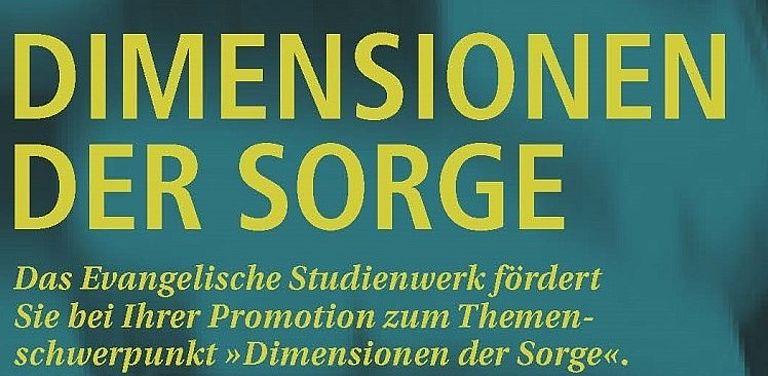 """Bild zum Projekt """"Dimensionen der Sorge"""" von Frau Prof. Dr. Henkel"""