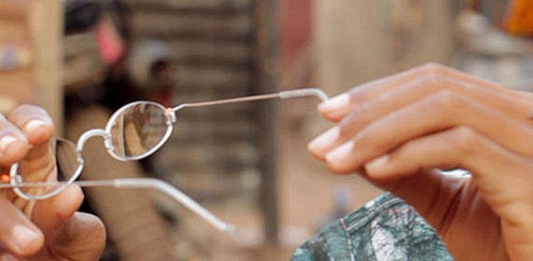 Foto einer EinDollar Brille
