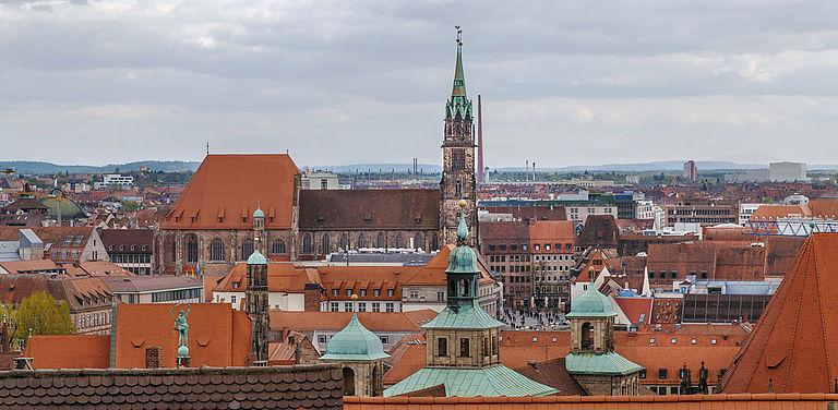 Die Nürnberger Pfarrkirche St. Lorenz ist Referenzobjekt einer fächerübergreifenden Digitalisierungsinitiative.
