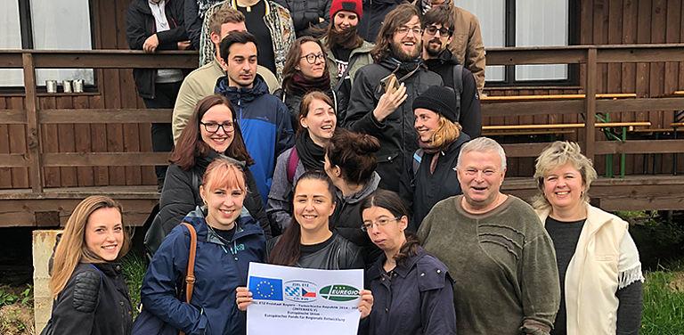 """Foto der Seminarteilnehmer zum Projekt """"Ziel ETZ Freistaat Bayern – Tschechische Republik 2014 – 2020 (Euregio)"""""""